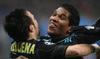 Marseille und AC Mailand im Achtelfinale (Foto)