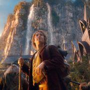 Martin Freeman als Bilbo Baggins in einer Szene des Kinofilms Der Hobbit: Eine unerwartete Reise.