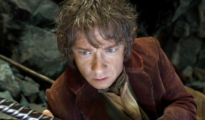 Martin Freeman ist Bilbo Beutlin im ersten Teil der Verfilmung von J.R.R. Tolkiens «Der kleine Hobbit». (Foto)