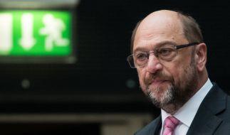 Martin Schulz stimmt seine Partei auf den Wahlkampfendspurt ein. (Foto)