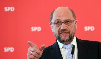 Martin Schulz will mit einem Pro-Europa-Kurs gegen Kanzlerin Angela Merkel in den Wahlkampf gehen. (Foto)