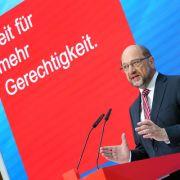 Martin Schulz rührt als Kanzlerkandidat der SPD für die Sozialdemokraten die Werbetrommel im Bundestagswahlkampf 2017. (Foto)