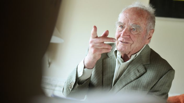 Martin Walser prophezeit eine düstere Zukunft - für die AfD. (Foto)