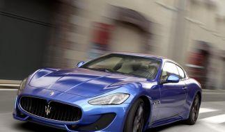 Maserati GranTurismo Sport: Neuer Name und mehr Leistung (Foto)