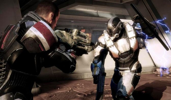 «Mass Effect 3»: Weltraum-Action mit Commander Shepard (Foto)