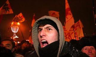 Massenproteste nach Präsidentenwahl in Weißrussland (Foto)