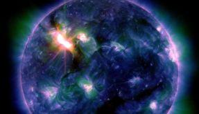 Massiver Sonnensturm trifft die Erde (Foto)