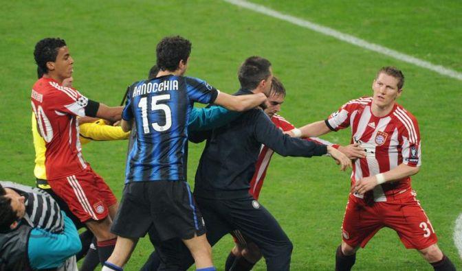 Materazzi-Ärger - Schweinsteiger sauer wie Zidane (Foto)