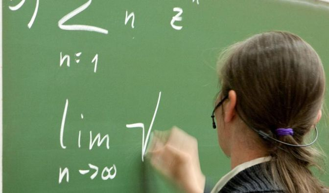 Mathematik-Studenten müssen kreativ sein (Foto)