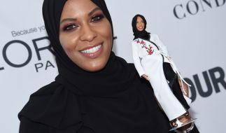 Mattel hat eine Barbie mit Hidschab vorgestellt. (Foto)