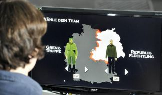 Mauerschützen-Spiel steht im Internet (Foto)
