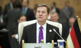Maulwurf im eigenen Büro: FDP-Chef und Vizekanzler Guido Westerwelle. (Foto)