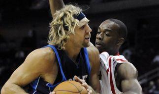 Mavericks Rockets Basketball (Foto)