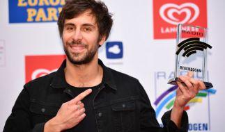 Max Giesinger gewinnt bei den Radio Regenbogen Awards. (Foto)