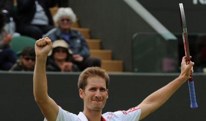 Mayer und Kohlschreiber im Wimbledon-Viertelfinale (Foto)