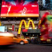 McDonald's macht deutlich weniger Gewinn und Umsatz (Foto)