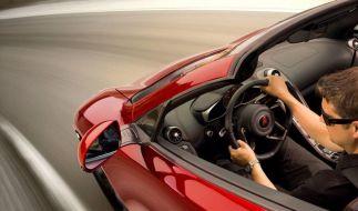 McLaren MP4-12C kommt auch als Spider (Foto)