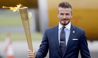 Medien: Beckham im britischen Olympiakader (Foto)