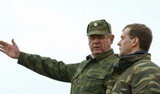 Medwedew bietet «Nulloption» im Raketenstreit (Foto)