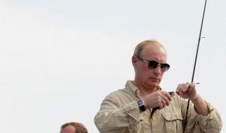 Medwedjew und Putin (Foto)