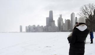 Mega-Blizzard in den USAhinterlässt Winterchaos (Foto)
