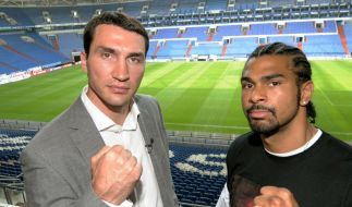Mega-Fight so gut wie perfekt: Klitschko boxt Haye (Foto)