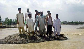 Mehr als 1000 Tote bei Überschwemmungen in Pakistan (Foto)