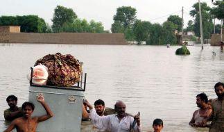 Mehr als 1500 Tote in Pakistan befürchtet (Foto)