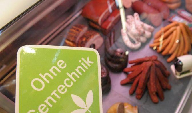 Mehr Lebensmittel «ohne Gentechnik» (Foto)