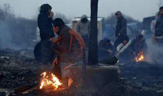 Mehr als 400 Polizisten schritten ein, um die Auseinandersetzung zwischen Afghanen und Sudanesen zu beenden. (Foto)