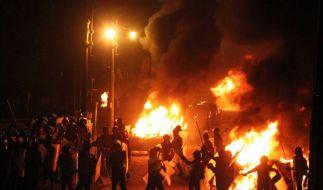 Mehrere Menschen sind bei Religionsunruhen in Kairo getötet worden. (Foto)