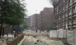 Mehrere Verletzte bei Explosion im Osloer Regierungssitz (Foto)