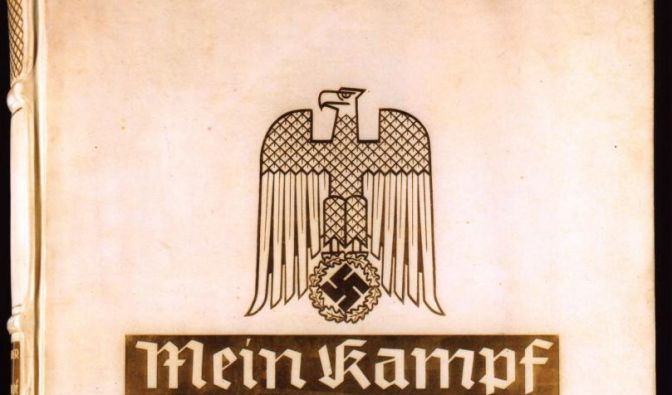 «Mein Kampf» bleibt in Deutschland nicht erhältlich. (Foto)