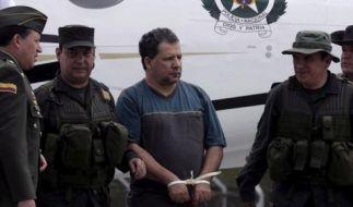 Meistgesuchter Drogenbaron Kolumbiens gefasst (Foto)