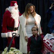 Melania Trump würde Weihnachten am liebsten auf einer einsamen Insel verbringen. (Foto)