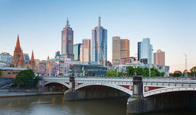 Melbourne Skyline (Foto)
