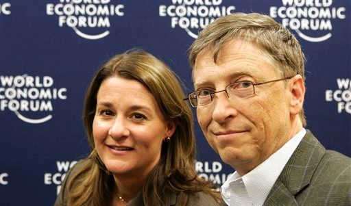 Melinda und Bill Gates (Foto)
