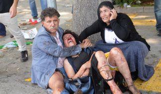 86 Tote, 186 Verletzte bei Bombenexplosion