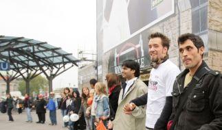 Menschenkette (Foto)