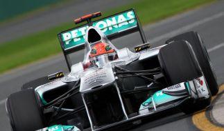 Mercedes  GP mit Sonderschichten vor Malaysia (Foto)