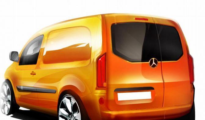 Mercedes baut Hochdachkombi Citan auf Kangoo-Basis (Foto)