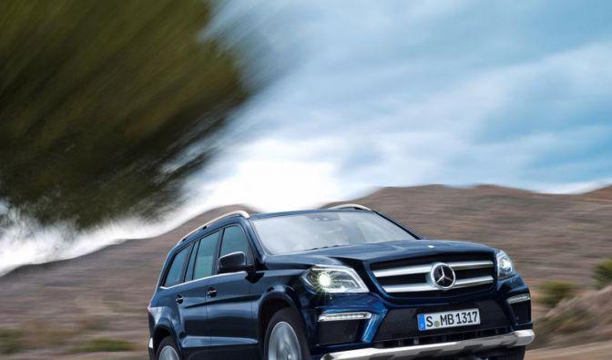 Mercedes enthüllt in New York zweite Generation der GL-Klasse (Foto)