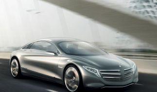 Mercedes gibt Ausblick auf S-Klasse der Zukunft (Foto)