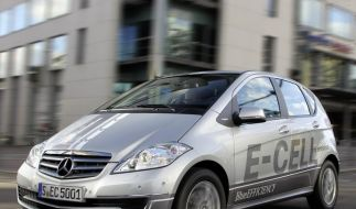 Mercedes' Kompaktwagen künftig auch als E-Auto (Foto)