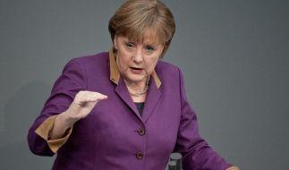 Merkel akzeptiert zeitweise höheren Euro-Schutzwall (Foto)