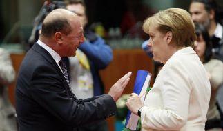Merkel attackiert rumänische Regierung scharf (Foto)