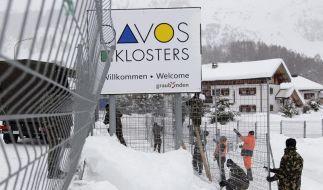 Merkel eröffnet 42. Weltwirtschaftsforum in Davos (Foto)