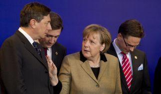 Merkel auf EU-Gipfel - Sparkommissar der Kanzlerin empört Europa (Foto)