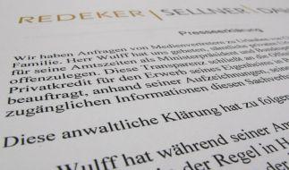 Merkel hat vollstes Vertrauen zu Wulff (Foto)