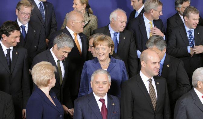Merkel in der EU (Foto)